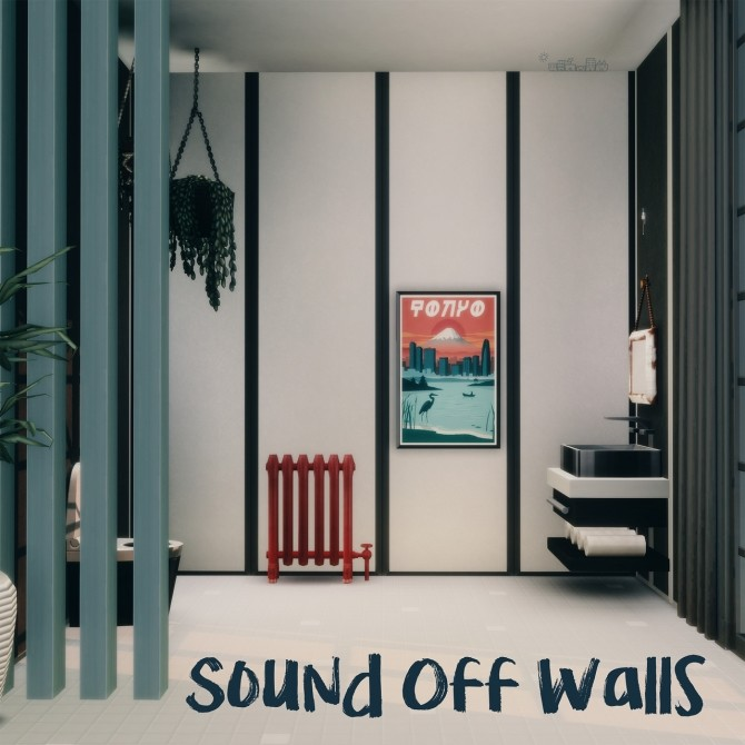 Sims 4 SOUND OFF WALLS at Picture Amoebae