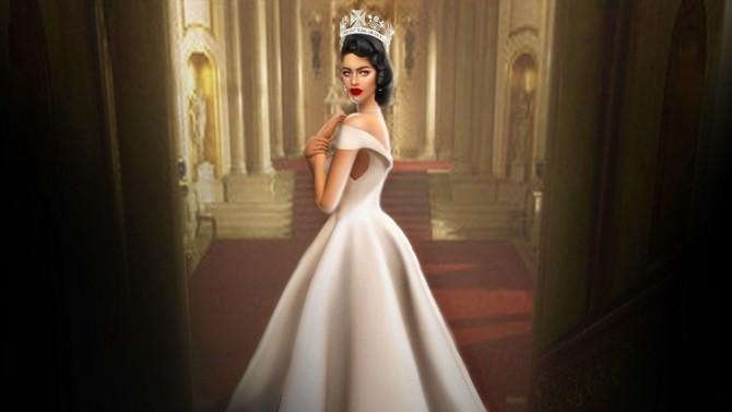 Sims 4 ELIZABETH AURA CROWN at MSSIMS