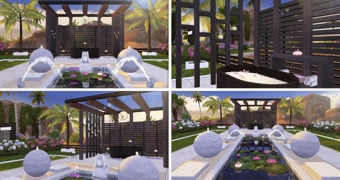 Spa Home 02 at Lorelea image 1352 670x355 Sims 4 Updates
