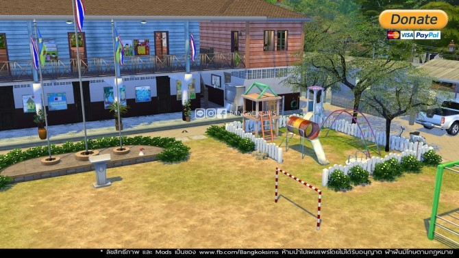 Public School (P) at BangkokSims image 1361 670x377 Sims 4 Updates