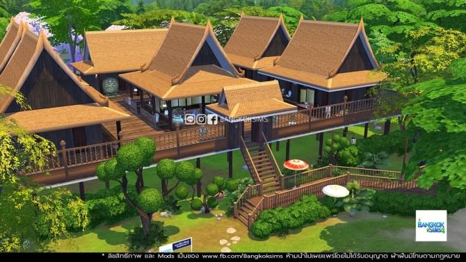 Sims 4 Thai House at BangkokSims