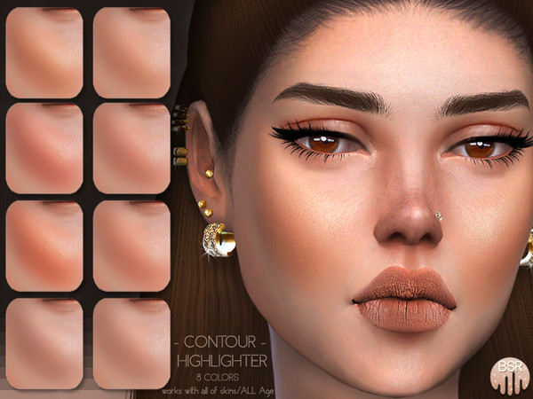 Sims 4 Contour + Highlighter BH09 by busra tr at TSR