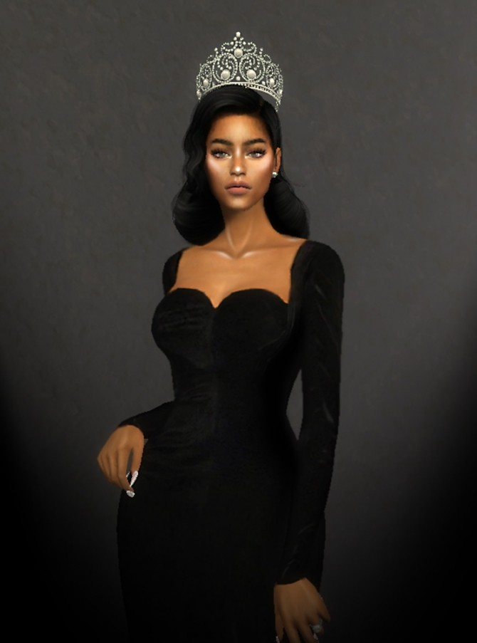 Sims 4 QUEEN OF THE SEA CROWN at MSSIMS
