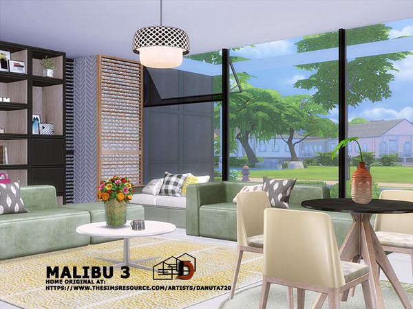 Sims 4 Malibu 3 villa by Danuta720 at TSR