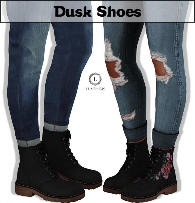 Sims 4 Dusk Shoes at Lumy Sims