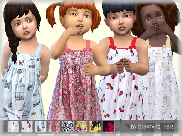 Sundress by bukovka at TSR image 1540 Sims 4 Updates