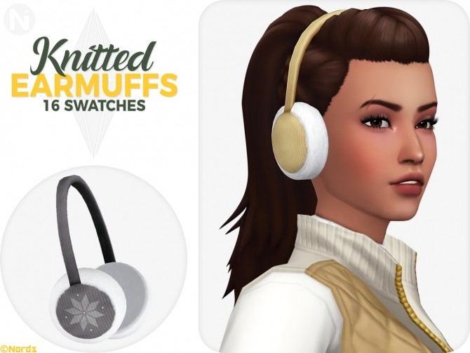 Knitted Earmuffs at Nords Sims image 1552 670x503 Sims 4 Updates