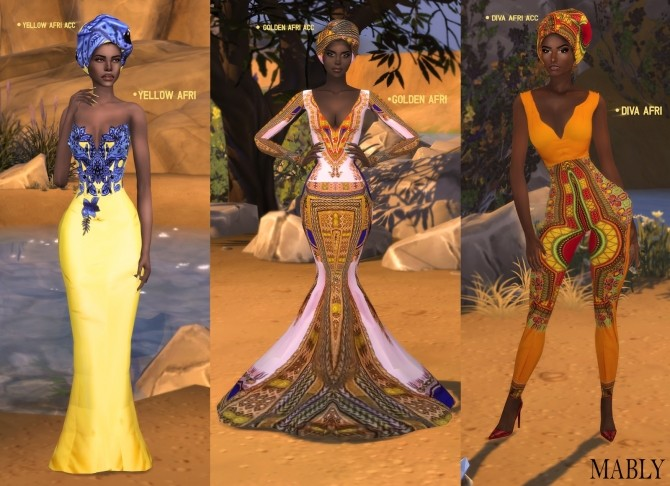 AFRI SET at Mably Store image 1563 670x486 Sims 4 Updates