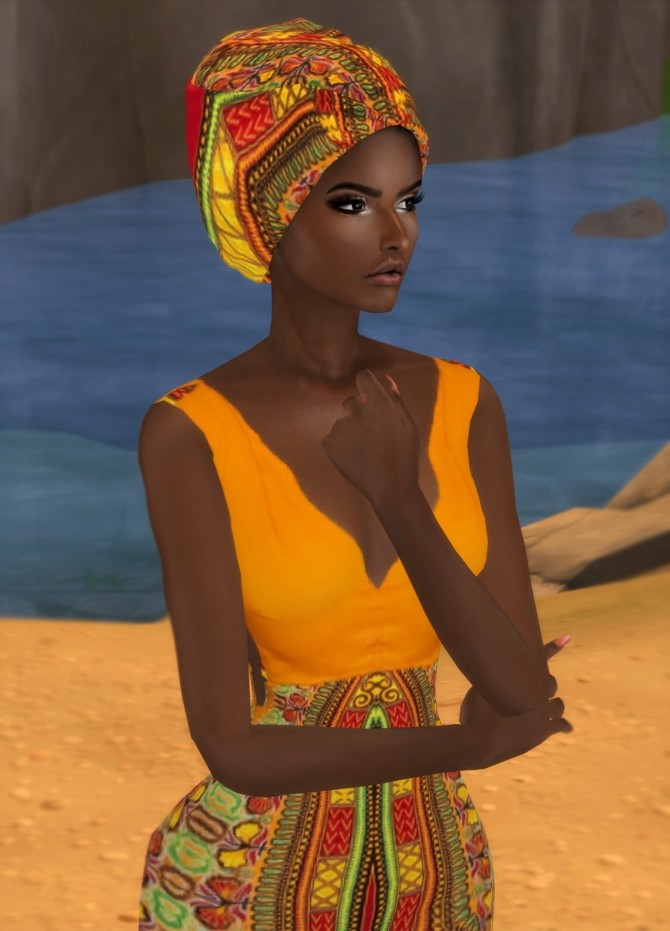 AFRI SET at Mably Store image 1593 670x931 Sims 4 Updates