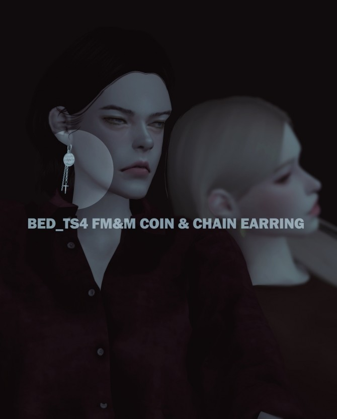 FM&M coin earring sets at Bedisfull – iridescent image 160 670x832 Sims 4 Updates