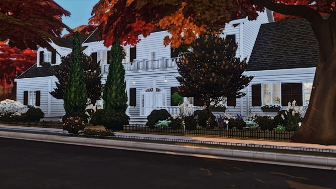 Sims 4 Hunter House at The Huntington