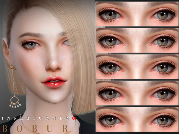 Eye corner 04 for all ages 11 colors HQ by Bobur3 at TSR image 1628 Sims 4 Updates