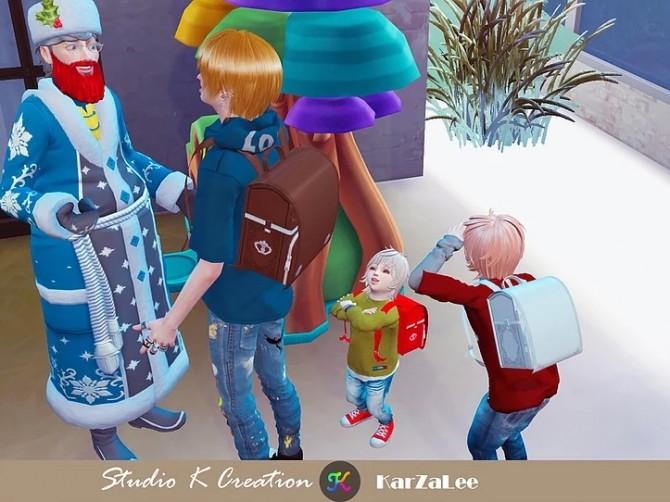 Sims 4 Randoseru backpack at Studio K Creation