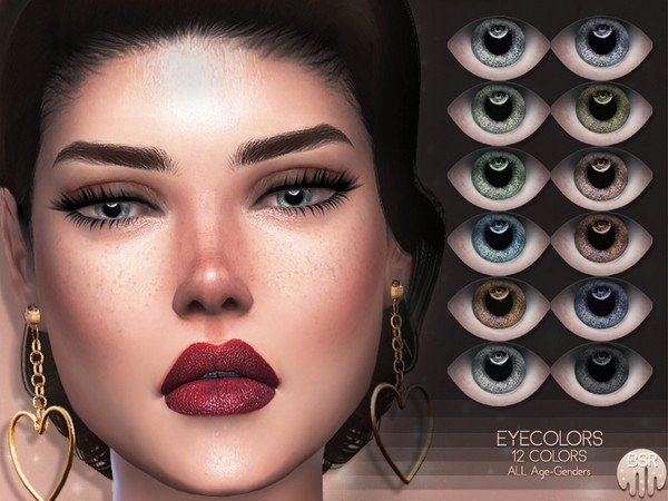 Sims 4 Eyecolors BES17 by busra tr at TSR