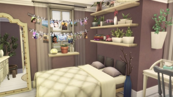 Cozy Bedroom at GravySims image 1641 670x377 Sims 4 Updates