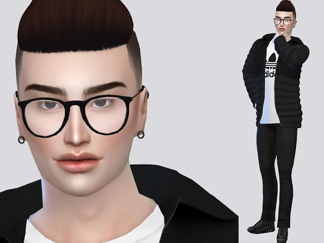 Sims 4 Taro Yamamota at MSQ Sims