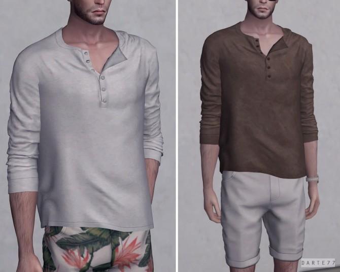 Sims 4 Long Sleeve T Shirt at Darte77