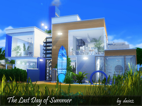 The Last Day of Summer home by dasie2 at TSR image 1820 Sims 4 Updates