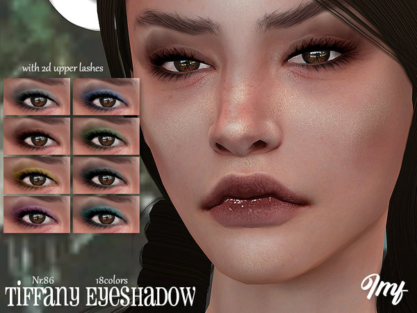 Sims 4 IMF Tiffany Eyeshadow N.86 by IzzieMcFire at TSR