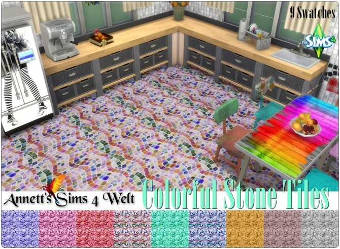Colorful Stone Tiles at Annett's Sims 4 Welt image 1903 670x490 Sims 4 Updates