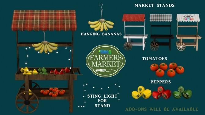 Sims 4 Farmers Market (P) at Leo Sims