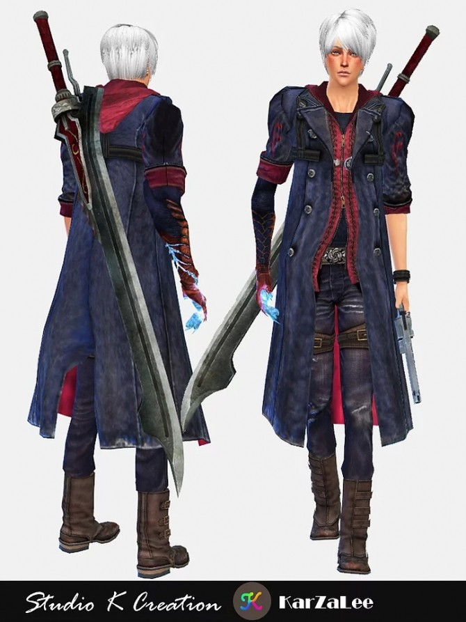 DMC4 Neros full outfit at Studio K Creation image 1951 670x893 Sims 4 Updates
