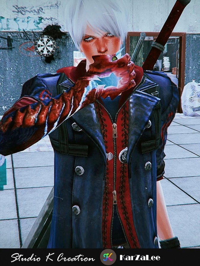 DMC4 Neros full outfit at Studio K Creation image 1971 670x893 Sims 4 Updates