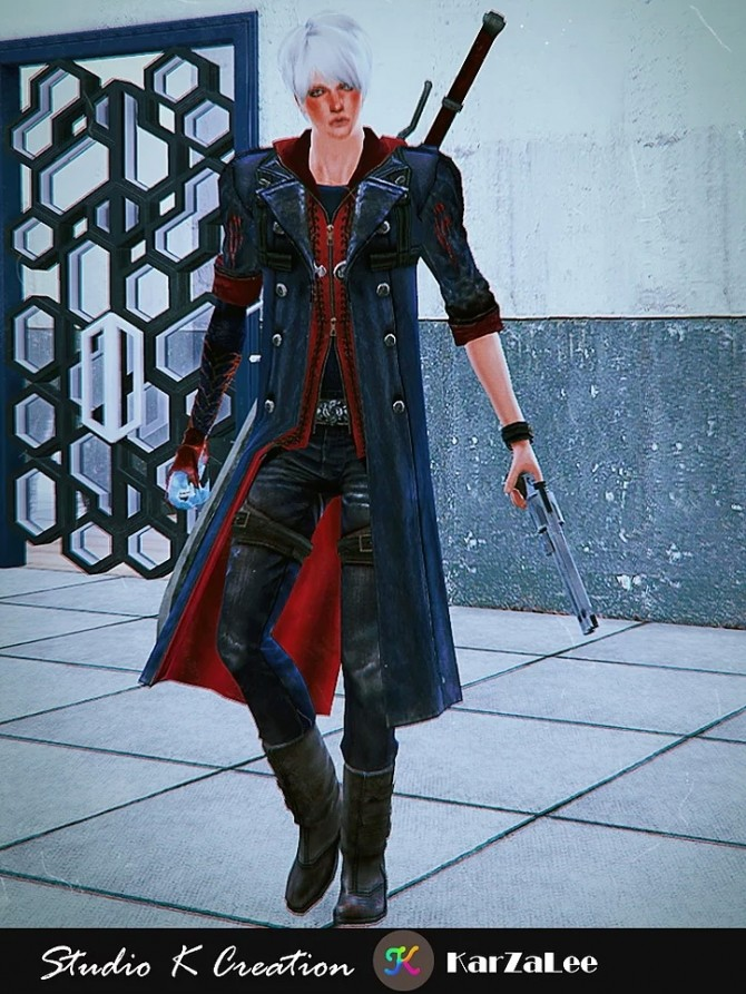 DMC4 Neros full outfit at Studio K Creation image 1981 670x893 Sims 4 Updates