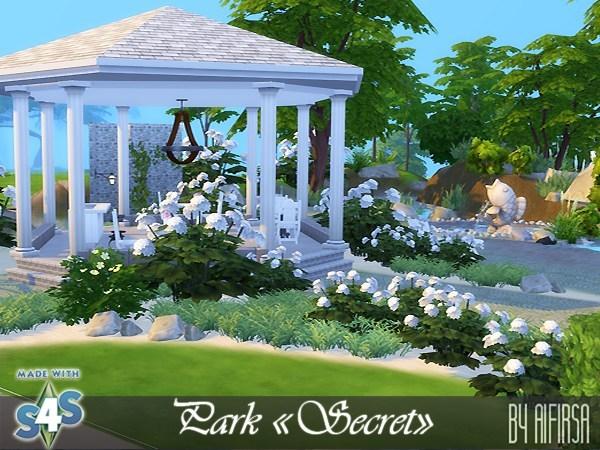 Sims 4 Secret park at Aifirsa