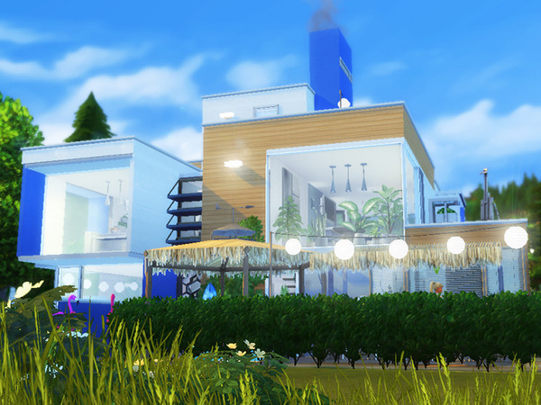 Sims 4 The Last Day of Summer home by dasie2 at TSR