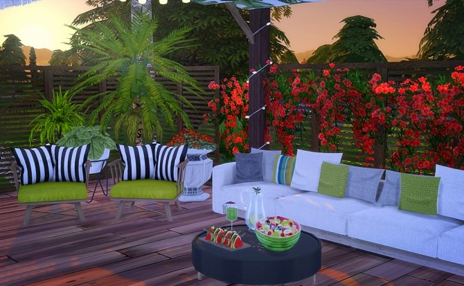 Lot N7 Modern White at Vicky SweetBunny image 2022 670x413 Sims 4 Updates