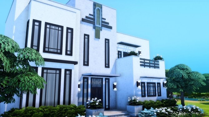 Vintage Glamour Build Addon Part II at Simsational Designs image 2063 670x377 Sims 4 Updates