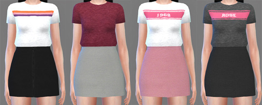 Crop Tank Tops at Descargas Sims image 2093 Sims 4 Updates