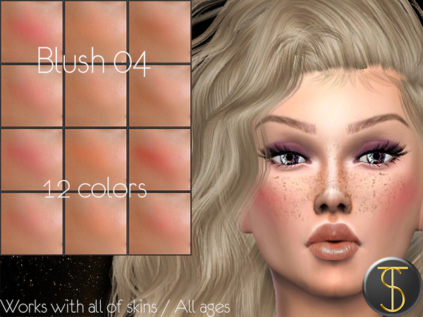 Sims 4 Blush 04 by turksimmer at TSR