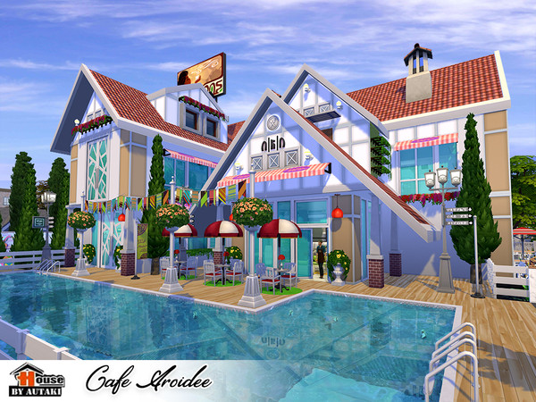 Cafe Aroidee by autaki at TSR image 2120 Sims 4 Updates