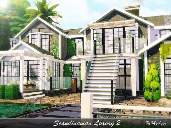 Sims 4 Scandinavian Luxury 2 by MychQQQ at TSR
