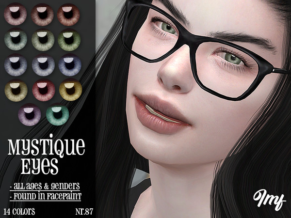 Sims 4 IMF Mystique Eyes N.87 by IzzieMcFire at TSR