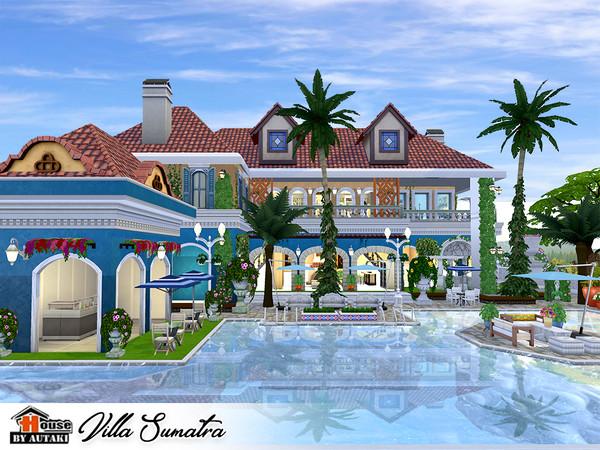 Villa Sumatra by autaki at TSR image 2136 Sims 4 Updates