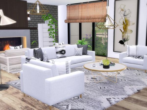 Modern Minimalist by MychQQQ at TSR image 2213 Sims 4 Updates