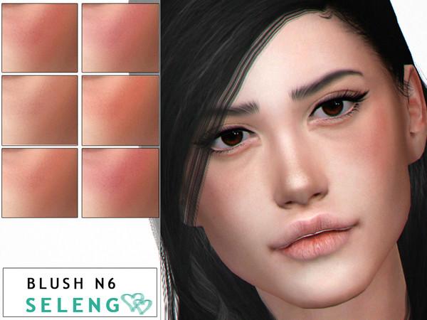 Sims 4 Blush N6 by Seleng at TSR