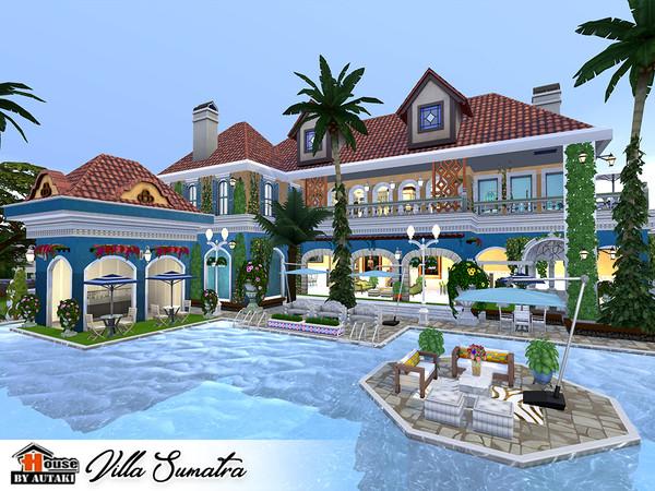 Villa Sumatra by autaki at TSR image 2228 Sims 4 Updates