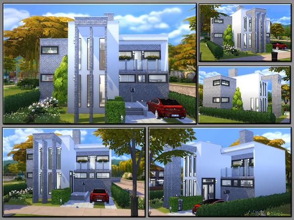 Sims 4 MB Lucky Happening modern family home by matomibotaki at TSR