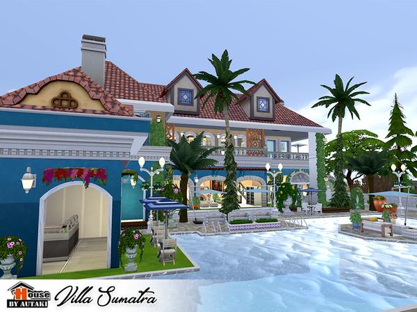 Villa Sumatra by autaki at TSR image 2326 Sims 4 Updates