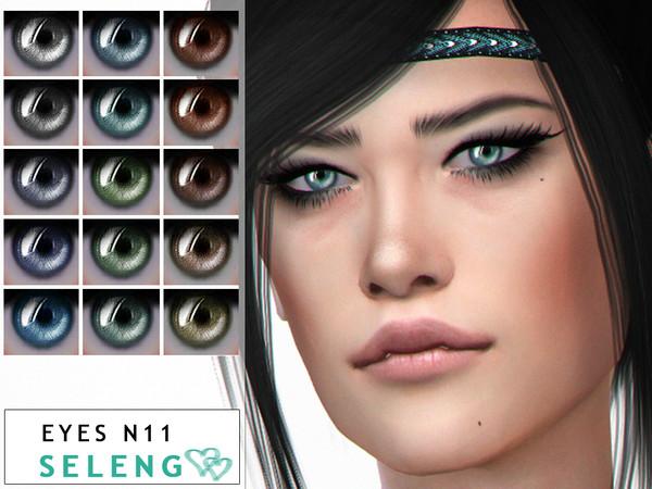 Sims 4 Eyes N11 by Seleng at TSR