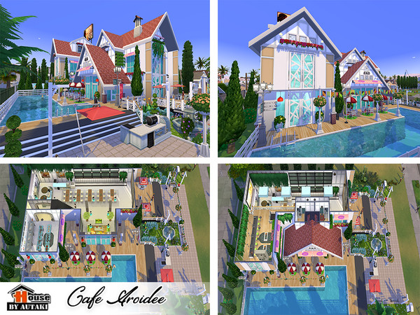 Cafe Aroidee by autaki at TSR image 2419 Sims 4 Updates