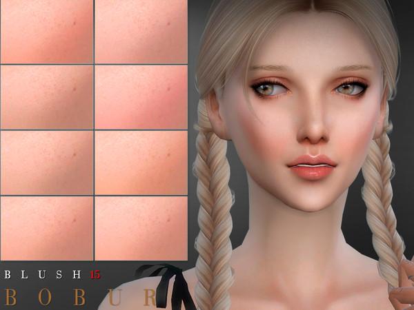 Sims 4 Blush 15 by Bobur3 at TSR