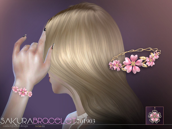 Bracelet 201903 by S Club LL at TSR image 2514 Sims 4 Updates