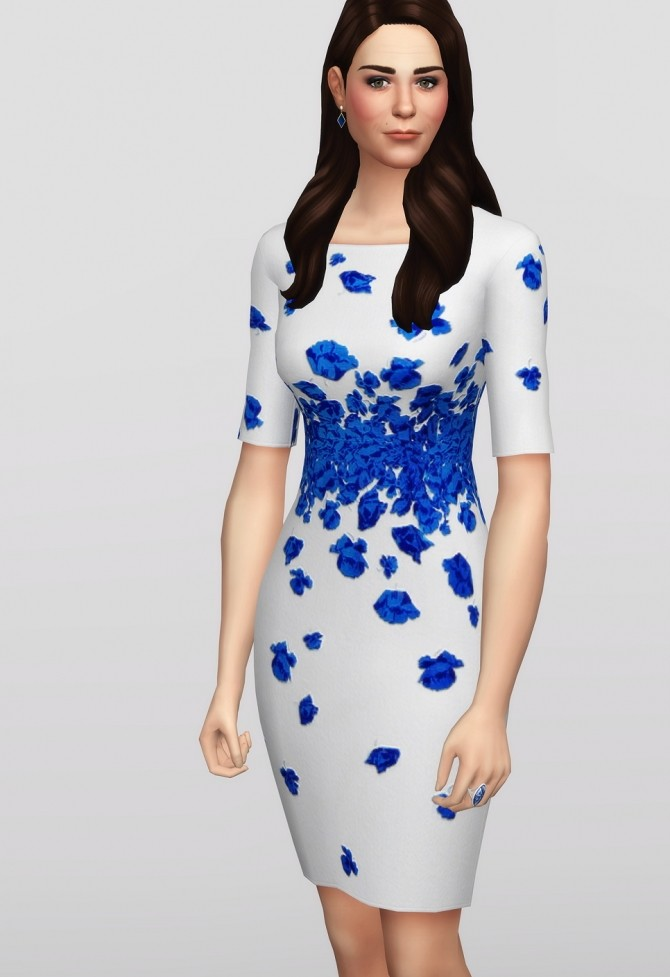 Blue Lasa Poppy Dress at Rusty Nail image 254 670x977 Sims 4 Updates