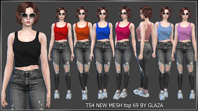 Top 69 at All by Glaza image 262 Sims 4 Updates