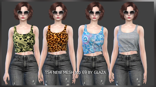 Top 69 at All by Glaza image 264 Sims 4 Updates